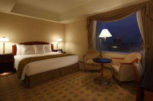 シティーホテルの部屋